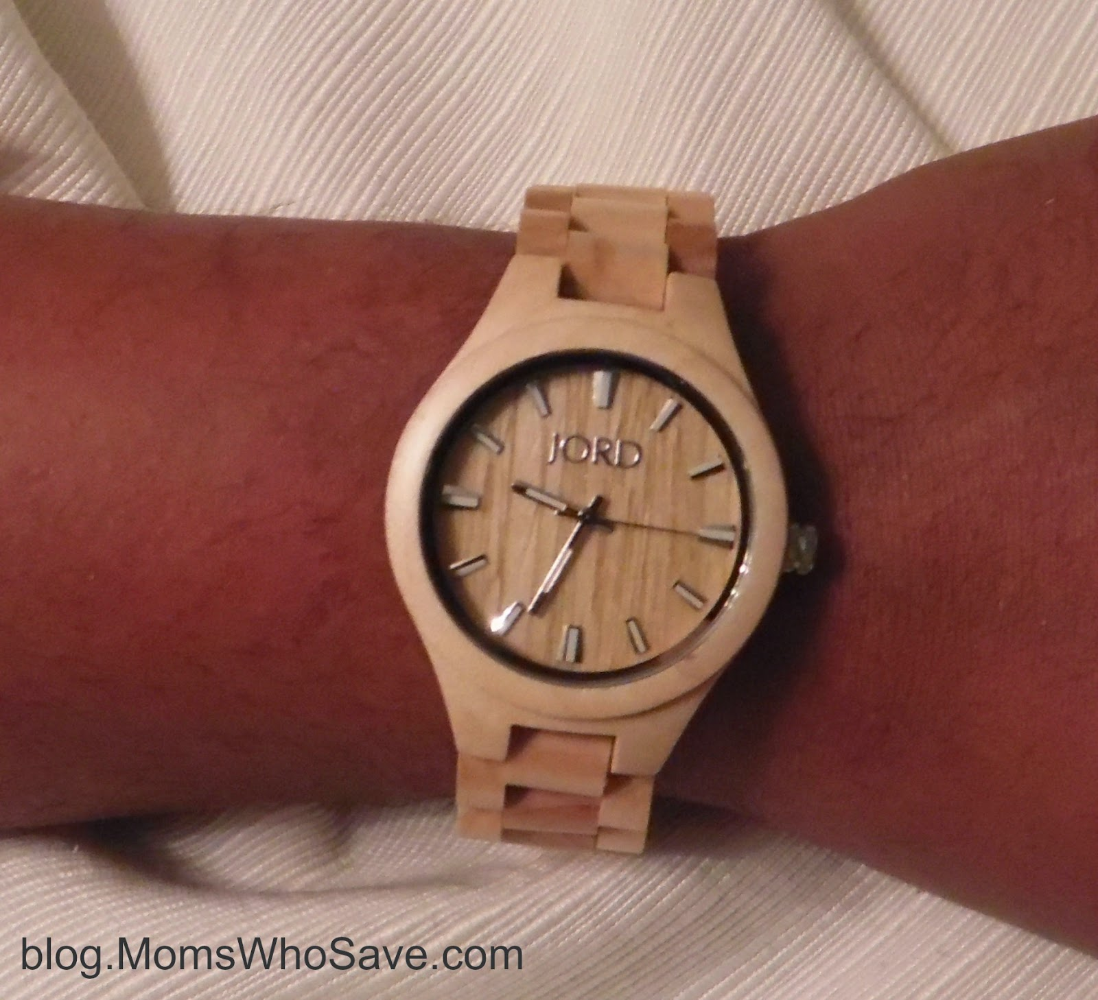 JORD Wood Watches – Review and a Giveaway