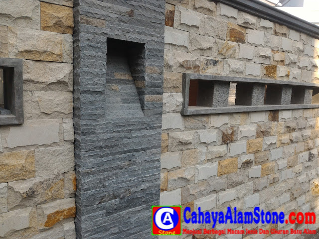 Aneka Pilihan Batu Alam Untuk Dinding