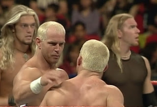 WWE / WWF Rebellion 1999 - The Hollys faced Edge & Christian and The Acolytes