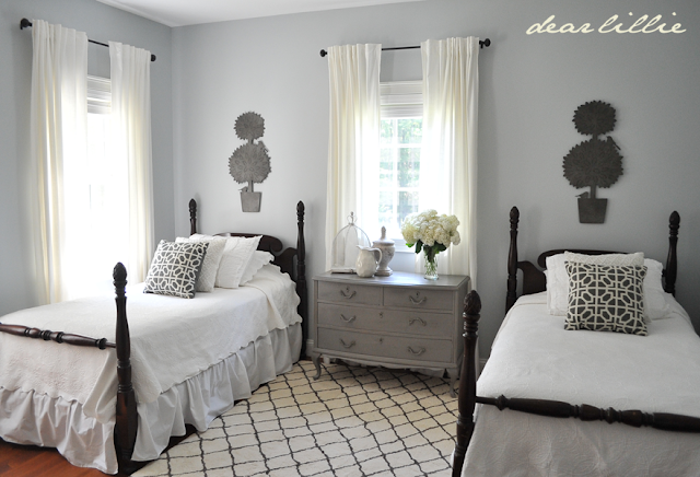 Dear Lillie: My Parent's Guest Bedroom