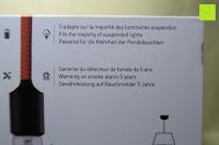 Verpackung Info: Lumen Basic schwarz ? Rauchmelder, ersetzt Ihr Sockel/Pavillon Luminaire (Noxe)