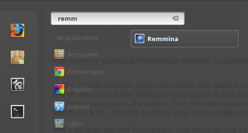 Potential Resolution for Remmina Error
