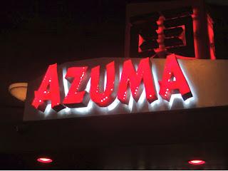 Azuma at The Rice