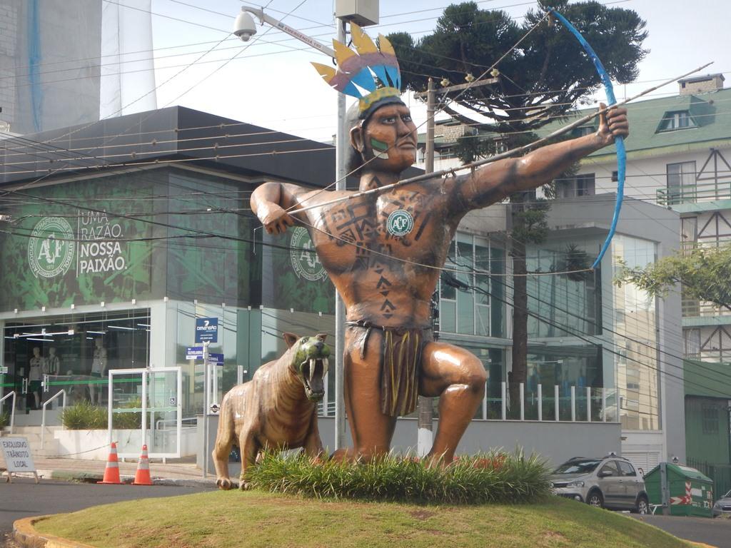 Índio Condá na Arena Condá