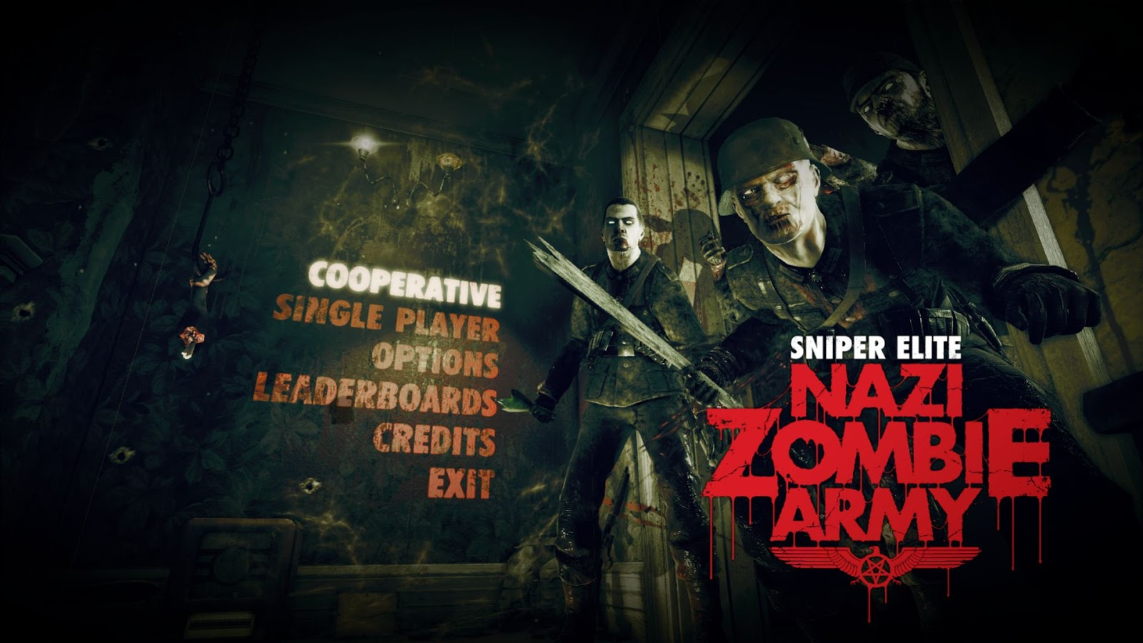 Cod Zombies Iphone Wallpaper Download Game Sniper Elite Nazi Zombie Army Full Iso 100