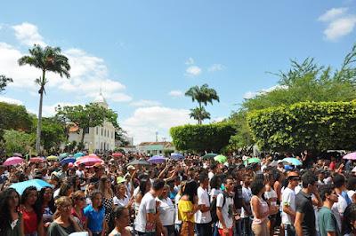 Jovens de 23 cidades participaram do DNJ em Ipirá