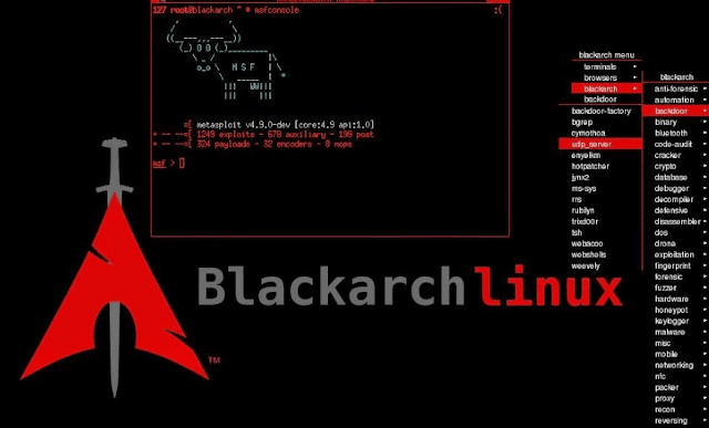 BlackArch Linux Updated With New Ethical Hacking Tools
