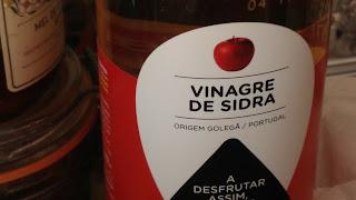 Vinagre de sidra de maçã
