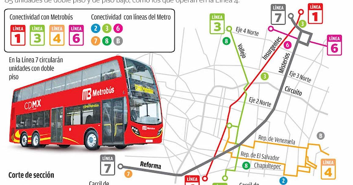 Vivir En Tlatelolco Confirmado Habra Linea 7 Del Metrobus En Paseo