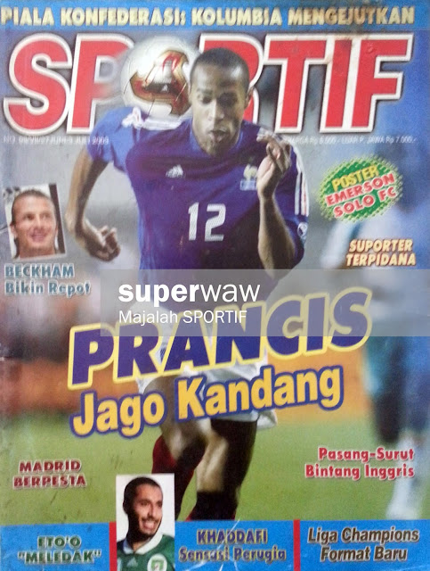 Majalah SPORTIF: PRANCIS Jago Kandang