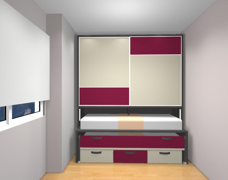 Soluciones para habitaciones peque as - Muebles infantiles para habitaciones pequenas ...