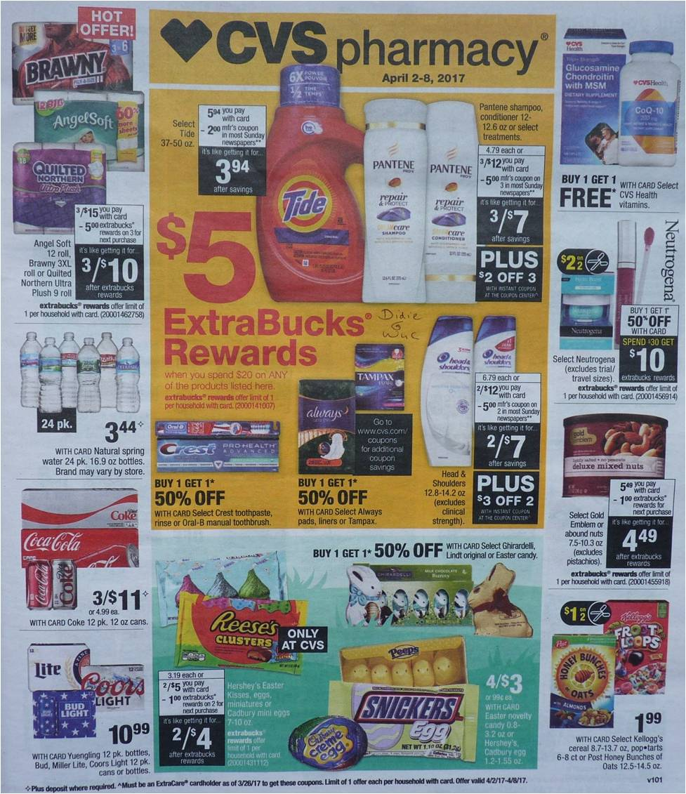 Simply Cvs Cvs Ad Scan Preview For The Week Of 4 2 17