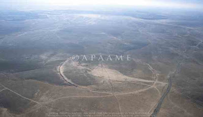 Lingkaran raksasa di Yordania