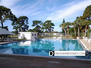 Venice Gardens community pool in Venice FL