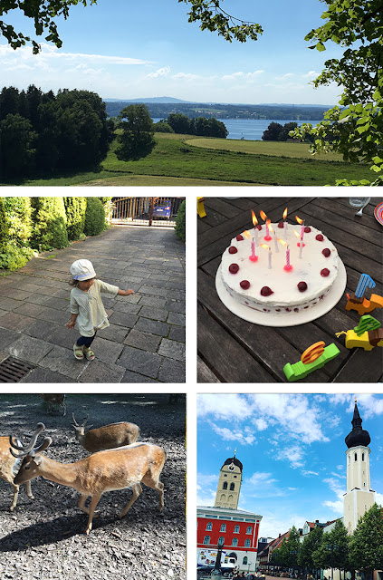 Birthday Party, Lake Starnberg, Wildpark Poing and Erding