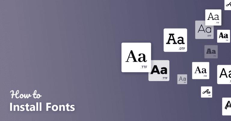 Cara Mudah Menambahkan Custom Font Aplikasi PicsArt iPhone