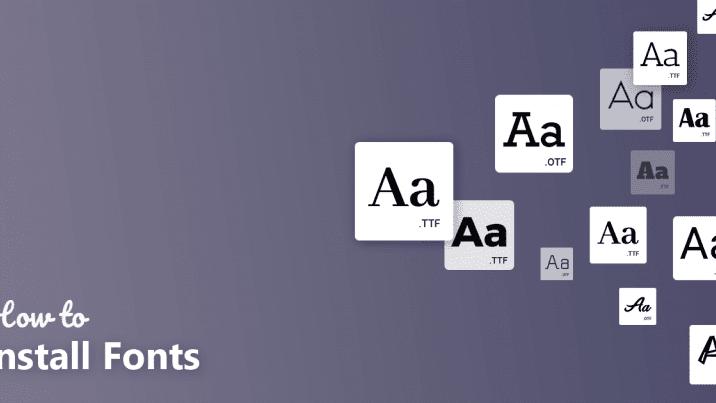 Gambar Ilustrasi Cara Mudah Menambah/Memasukan Font Baru di PicsArt Masih Terjaga Blog