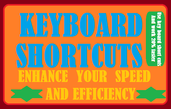 Windows Key Board Short Cuts