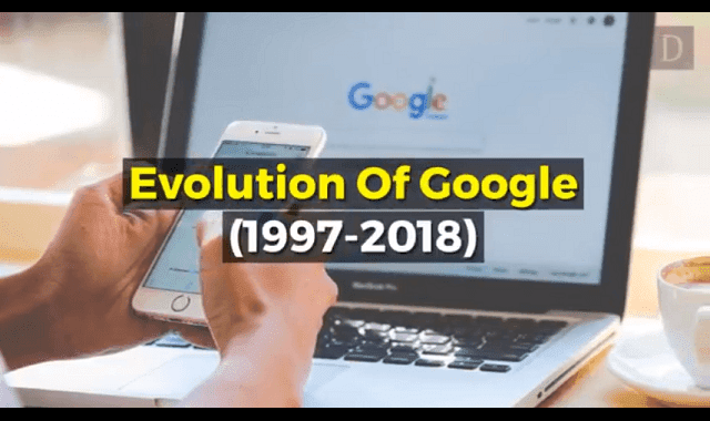 How Google's Home page and Logo evolved over the years