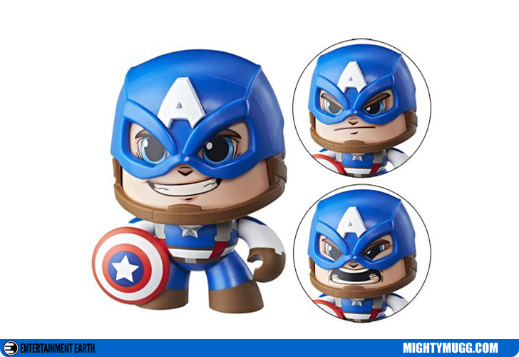 Captain America Marvel Mighty Muggs Wave 1 2018
