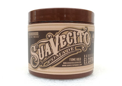 Suavecito X El Catrin Barbershop Firme Hold Pomade