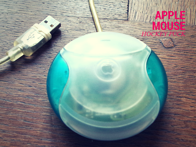 Apple's Hockey Puck Mouse is a classic example of the triumph of gorgeous design over basic usability.