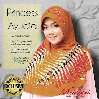 Jilbab santai Princess Yudia