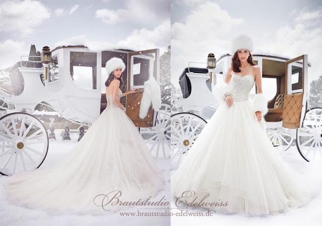 Brautkleid, Hochzeitskleid mit Tüll,  weiter Rock und Glitzercorsage.