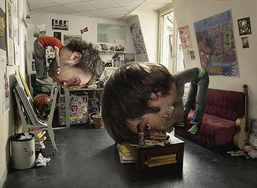 efek manipulasi besar kepala