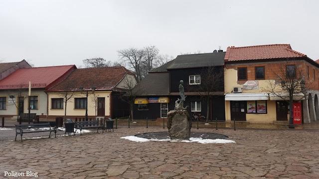 Niepołomice, rynek, Małopolska
