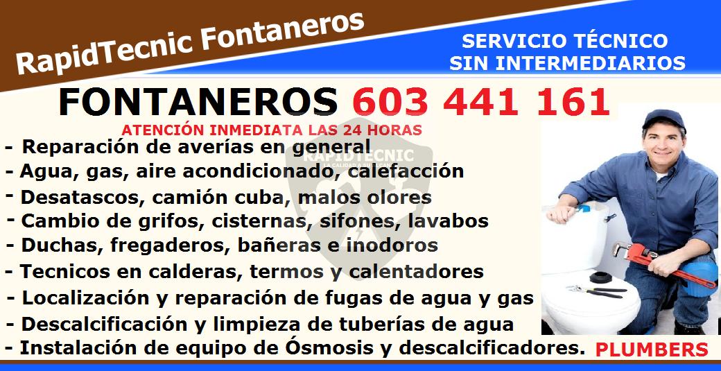 Rapidtecnic madrid fontaneros p a u carabanchel la - Fontaneros de madrid ...