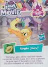 My Little Pony Wave 21 Applejack Blind Bag Card