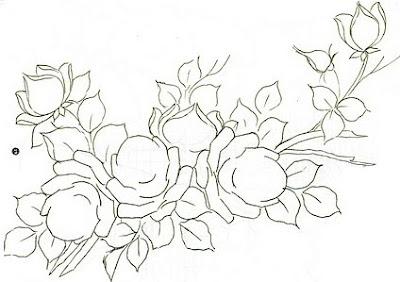 Desenhos De Flores Para Colorir Em Tamanho Grande
