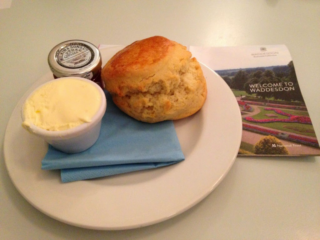 Waddesdon Manor scones