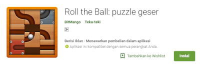 Download Games Roll The Ball Puzzle Geser Apk Android Gratis