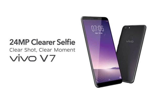 Vivo Launches V7 with Bezel-less Display and 24 MP Front Camera