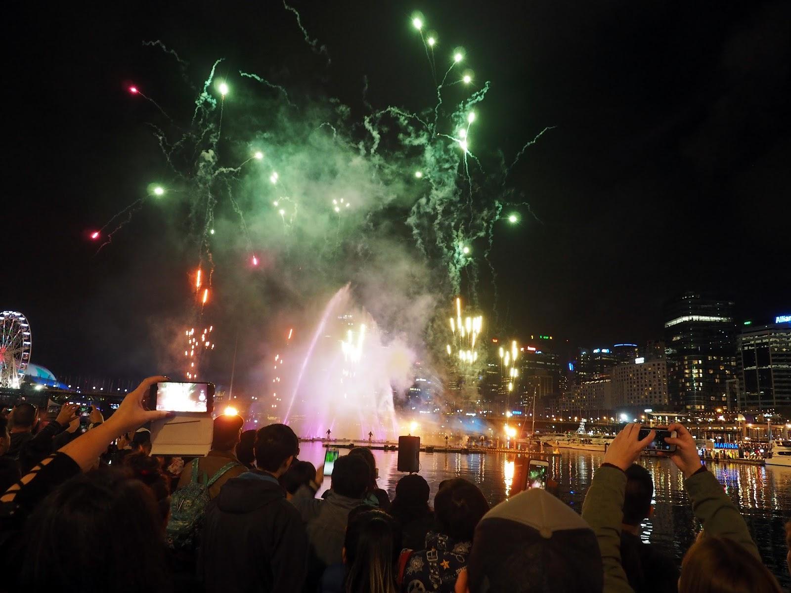 Vivid Sydney Darling Harbour Fireworks