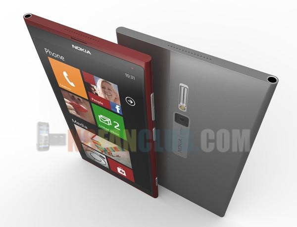 High End Lumia 920 Successor with Aluminum Construction