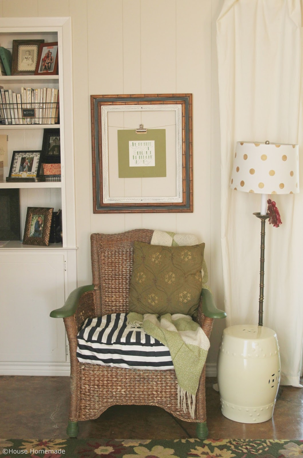 House Homemade: Open Frame Decor- 5 ways