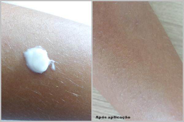 Aplicação na pele