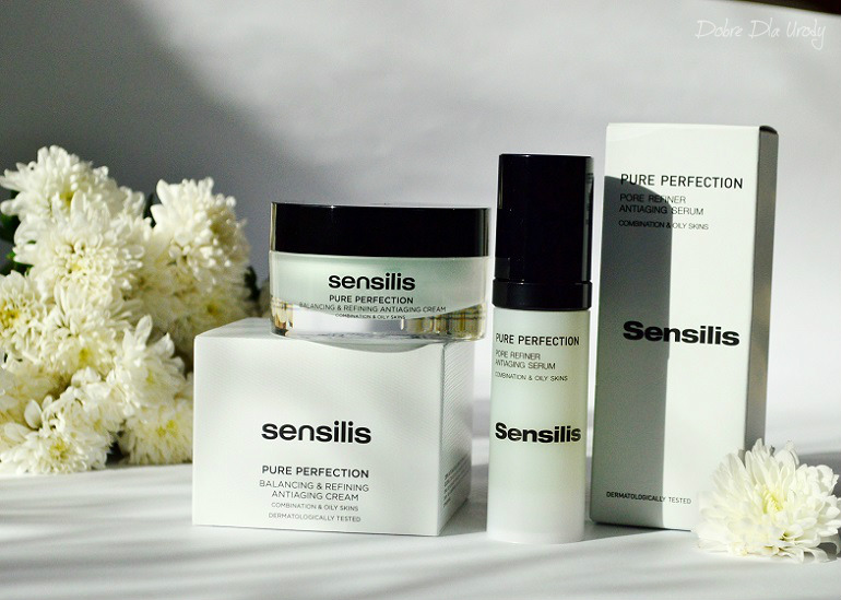 Sensilis Krem i Serum Pure Perfecton zapobiegające starzeniu się skóry