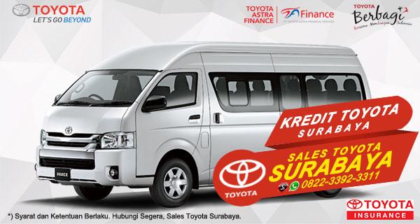 Promo DP Ringan, Paket Kredit Toyota Hiace Surabaya