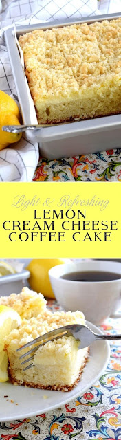 Lemon Cream Cheese Coffee Cake Recípe