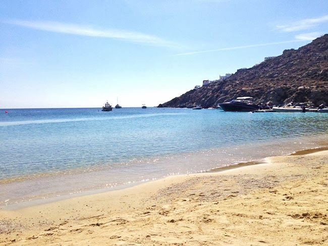 Mykonos celebrities beach