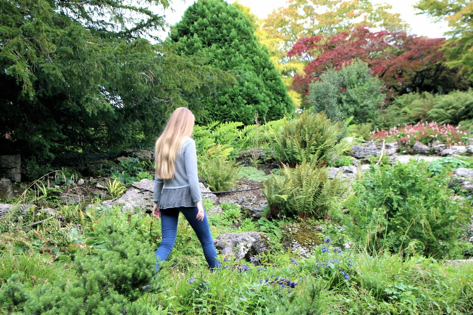 National Trust Sizergh Castle gardens in Kendal