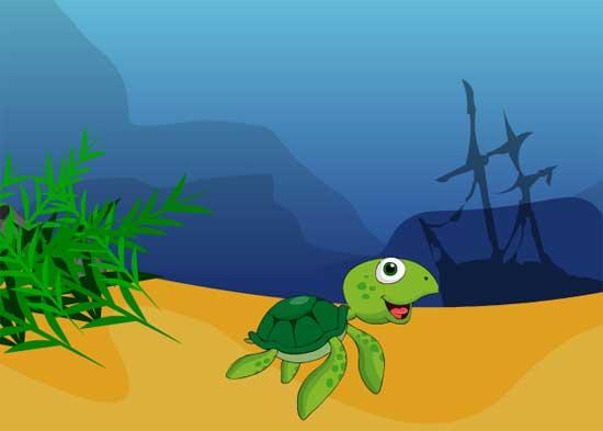 Dorby Underwater Escape Juego Solución
