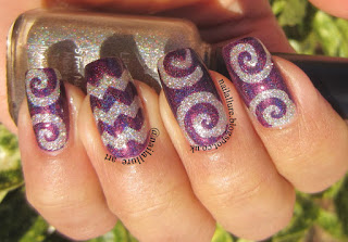 Vibrant Nail Vinyls Nail Art Manicure