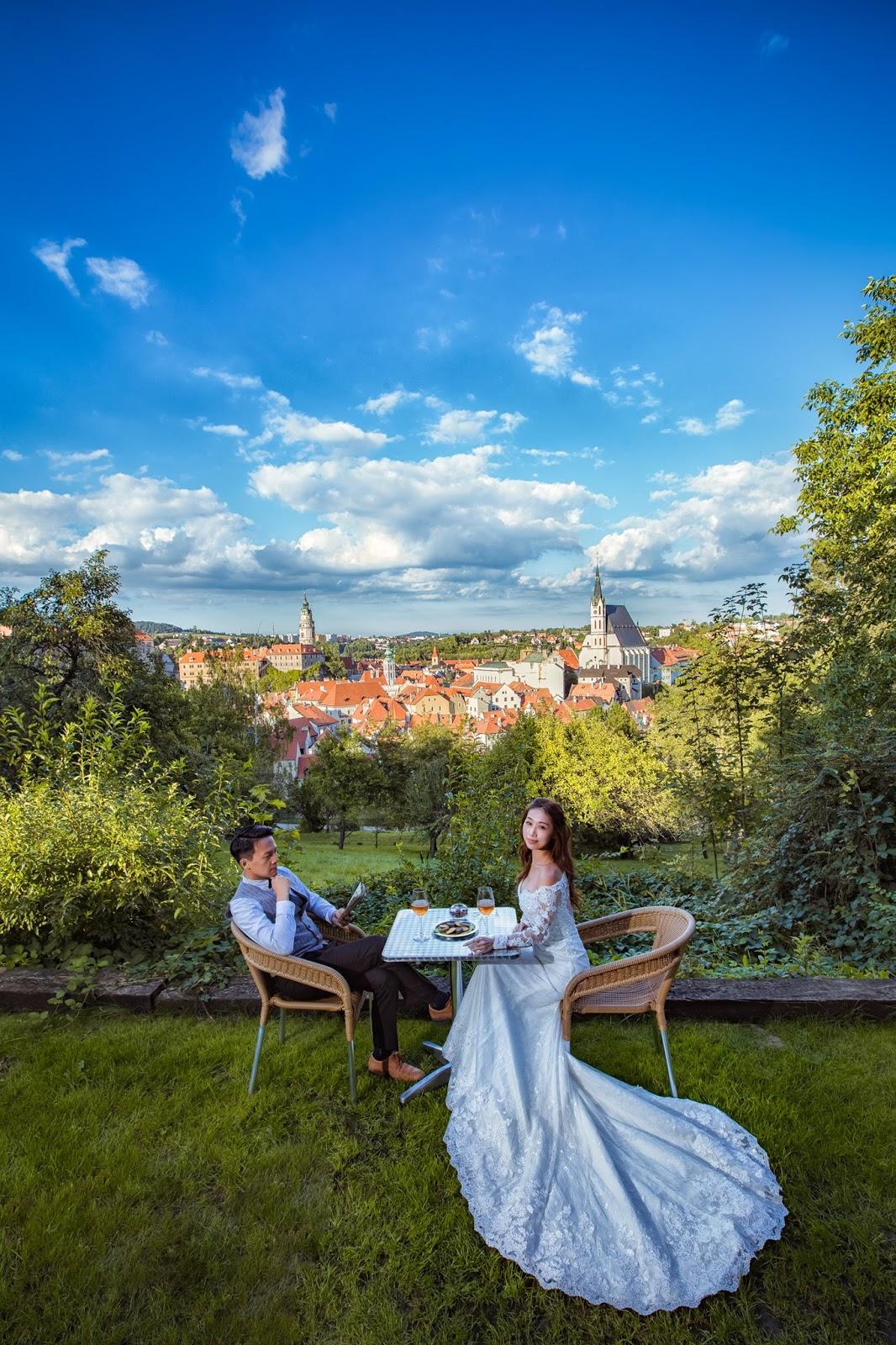 CK小鎮 庫倫洛夫  海外自助婚紗推薦 婚攝小布哥 哈爾斯塔特 法國巴黎 維也納