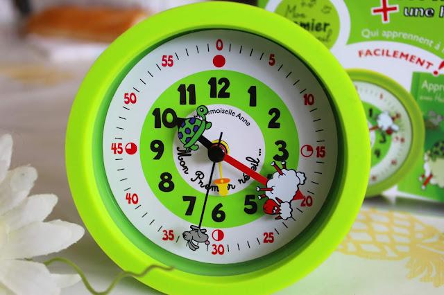 savoir lire l'heure