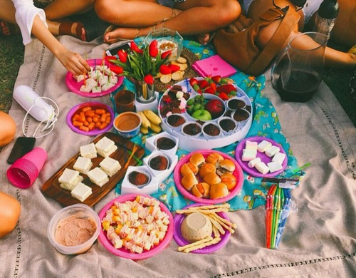 faça um picnic